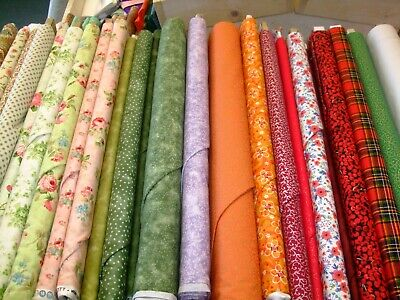 Clearance Quilting Sale 100% Cotton Patchwork Quilt Fabric Bargains Free P&P