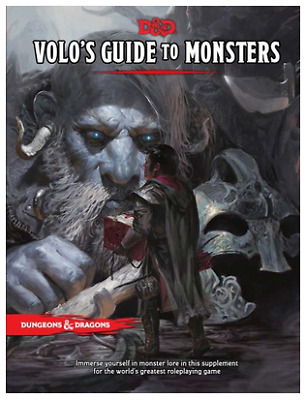 Dungeons and Dragons Volo's Guide to Monsters - D&D 5e  WotC New 🔥 (P.D.F)🔥