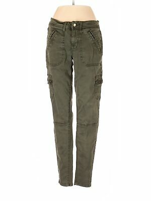 Mossimo Women Green Cargo Pants 2