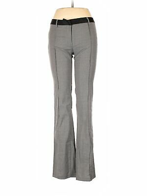 United Colors Of Benetton Women Gray Wool Pants 40 eur