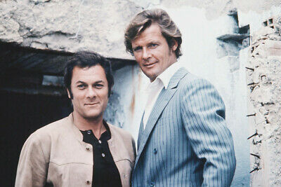 The Persuaders Curtis and Moore Awesome BW Poster