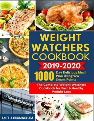 Weight Watchers Cookbook 2019-2020 – 1000-Day Delicious Meal Plan Us-[PDF,EB00K]
