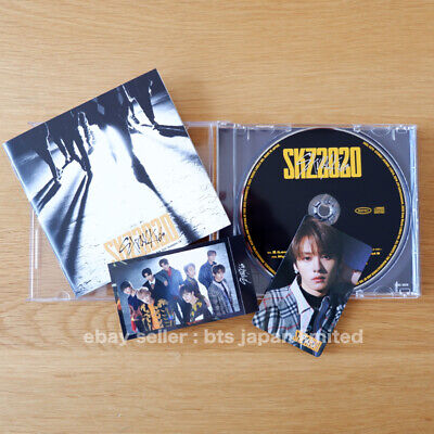 STRAY KIDS OFFICIAL Leeknow SKZ2020 1 CD + 2 Photo cards STRAYKIDS Photocard