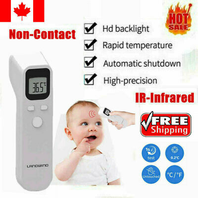 Medical Body Grade Non Contact Digital Infrared Temporal Forehead Thermometer CA