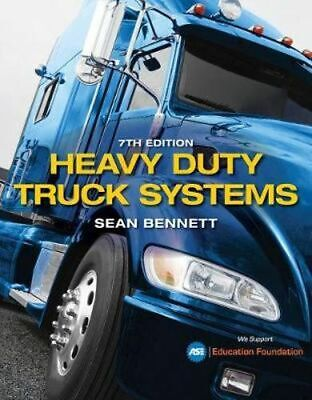 NEW Heavy Duty Truck Systems By Sean Bennett Hardcover Free Shipping