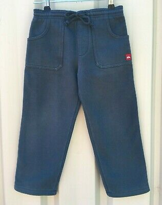 Quicksilver, Size 3 Boys Gray Track Pants In Good Condition.