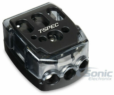 T-Spec V-DIST-PWR Compact Battery Terminal 3 Position Distribution Block