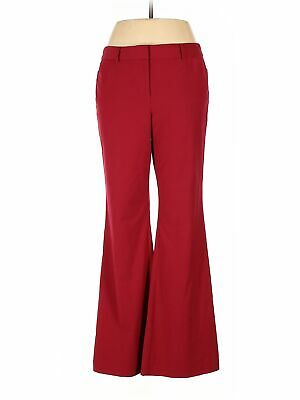 Body By Victoria Women Red Dress Pants 10