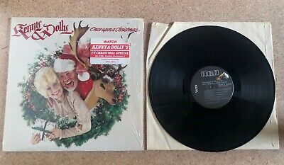 Kenny Rogers & Dolly Parton - Once Upon a Christmas -Shrink HypeSticker