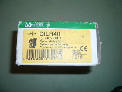 Moeller........... Dilr40............ Contactor........240 Vac 50 Hz. New Boxed.