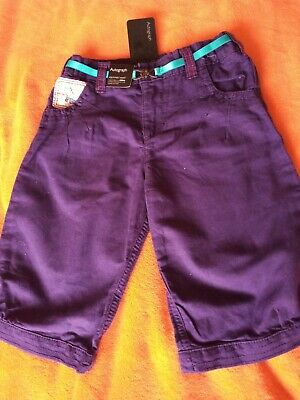 NEW Girls Crop Trouser. M & S. Age 4-5.
