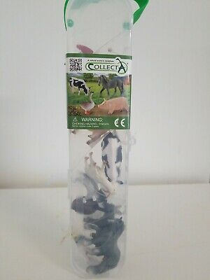 """Collect A """"A Natural World I. Miniatures Farm Animals. Free Shipping."""