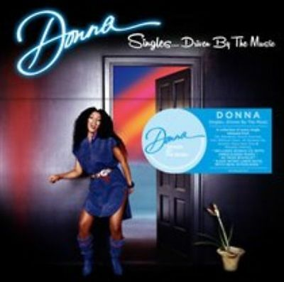 Donna Summer Singles Driven By The Music Box Set CD Like New Free Shipping!