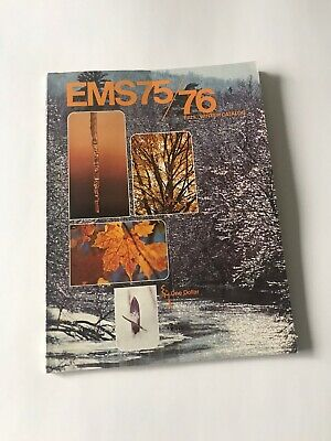 Vintage 75/76 Eastern Mountain Sports Fall Winter Catalog North Face EMS