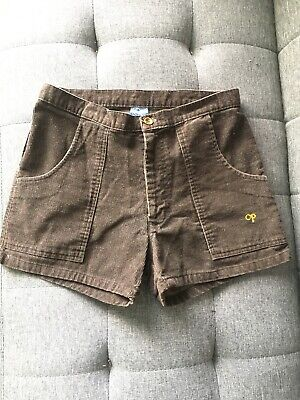 Vintage 1970s 80s Brown Corduroy OP Beach Shorts Mens 30 Ocean Pacific Surf Swim