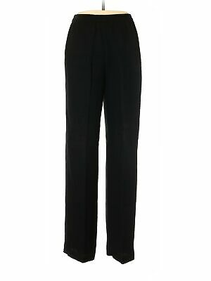 R&M Richards Women Black Dress Pants 10
