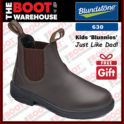 Blundstone 630 'CHILDREN'S  BLUNNIES', Elastic Sided Non Safety. Just Like Dad!.