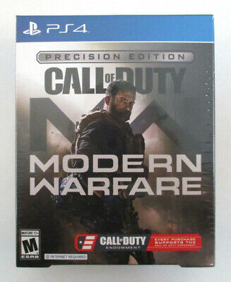 Call Of Duty Modern Warfare PRECISION EDITION PS4 Video Game NEW Sealed
