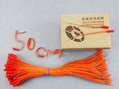 50cm 100pcs connect wire-fireworks firing system copper wire Radio fire electric