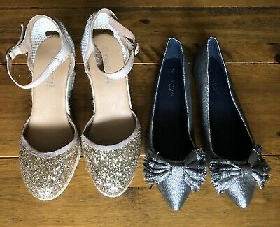 Next: two pairs of girls shoes (size UK 5)
