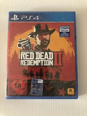 Red Dead Redemption Ii 2 - Gioco Ps4 Playstation 4 Nuovo