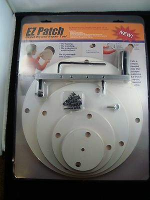 EZ Patch Drywall Gypsum Sheetrock Circle Cutter Repair Tool