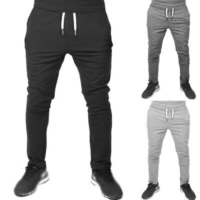 Hommes Pantalon Jogging Mode Sports Fitness de Survêtement