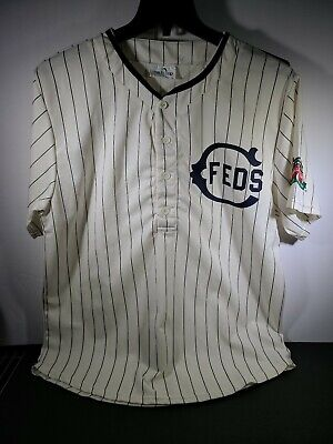 Chicago Feds Cubs 1914 Jersey SGA Size XL Wrigley Field 100th Anniversary
