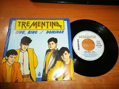 TREMENTINA Ring ring / Dominar SINGLE VINILO 1983 JOSE MARIA CANO MECANO