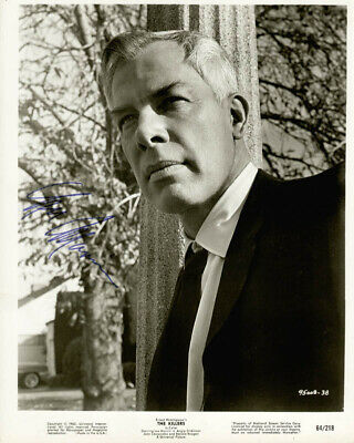 Lee Marvin - Printed Photograph Signed In Ink