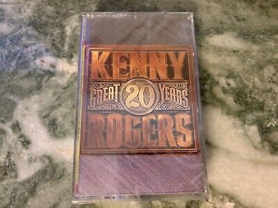Kenny Rogers Great Years Cassette Greatest Hits New Sealed Gambler Lucille Lady