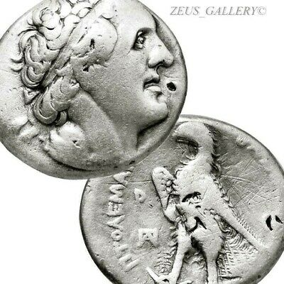 PTOLEMY I Die Artist Signed Delta Master Δ Coin Ancient Greek Silver Tetradrachm
