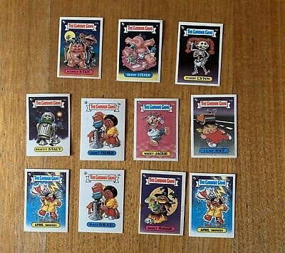 The Garbage Gang x 10 The Topps Company 1985