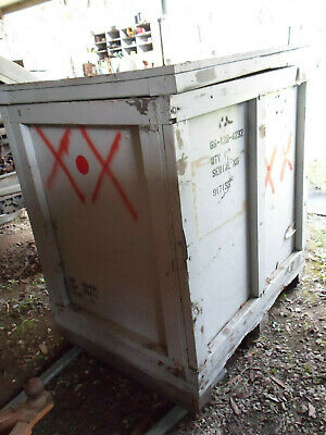 EMPTY Wooden /Timber transport crate/box  850 mm x 1200 mm x 1050 mm Heavy Duty