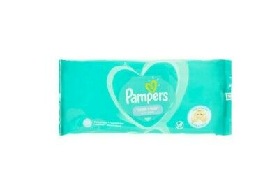 Pampers Baby Wipes Sensitive Fragrance Free & Fresh Clean Baby Scent 52 Count