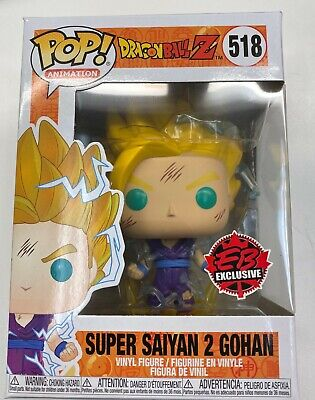 **IN HAND** EB Game EXCLUSIVE Funko Pop! Dragon Ball Z Super Saiyan 2 Gohan #518