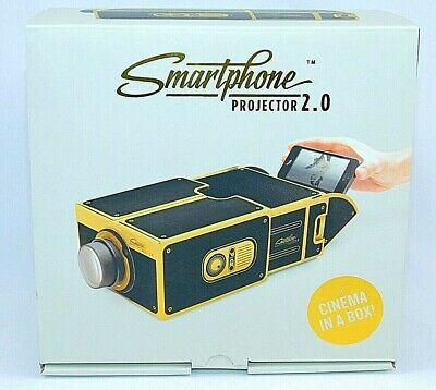 Smart Phone Projector 2.0 By Luckies Of London BLACK AND GOLD NEW