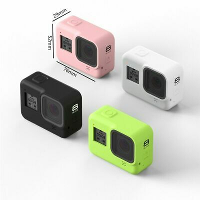 Sports Camera Silicone Case For GoPro Hero 8 Black Action Video Camera with Rope