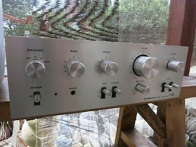 vintage Pioneer SA-6500 ll Stereo Integrated Amplifier