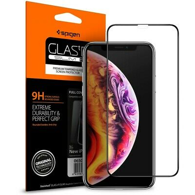 Screen Protector for iPhone XR,XS,11 Pro MAX 6D Curved FULL COVER TEMPERED GLASS