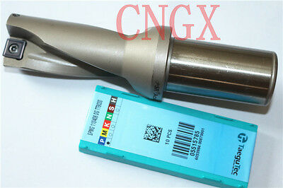 1P C32-4D38-157SP11 U drill/ indexable drill / 38mm-4D with+2PCS SPMG110408