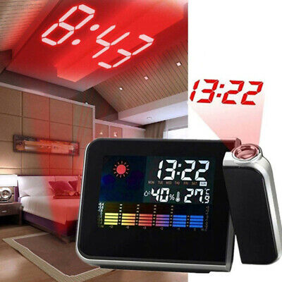 C445 8190 Digital Alarm Clock Without Battery Multifunction Portable