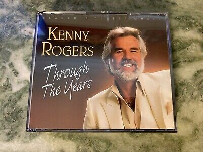 Vg Kenny Rogers Through The Years [Reader's Digest] 3 Cd 44 Greatest Hits Set