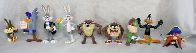 """Vintage 1988 Applause looney Tunes PVC Bugs Bunny Road Runner Taz others 3"""""""