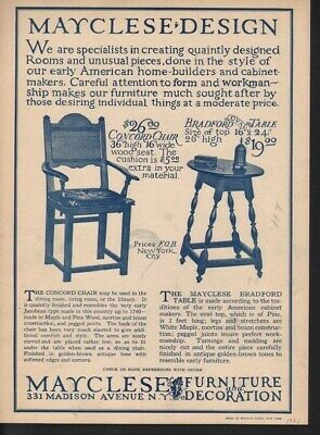 1921 Mayclese Home Decor Furniture Design Style Table 13937