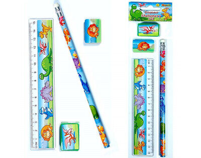 Dinosaur Stationery Set - Party Bag Filler | Dinosaur Party Supplies Decorations
