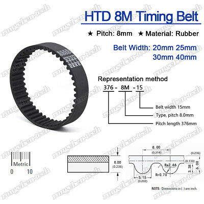 OPTIBELT 600-5M-50  HTD Timing Belt 5mm pitch 120 teeth 50mm wide