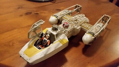 Star Wars Power of the Force Y-Wing Fighter (Boxed)