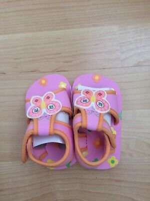BABY GIRLS PINK MOTHERCARE SANDALS UK 3 (up to 12months)