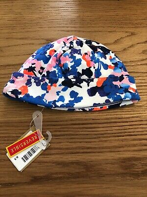 Joules Baby Girl 0-3 Months Reversible Hat
